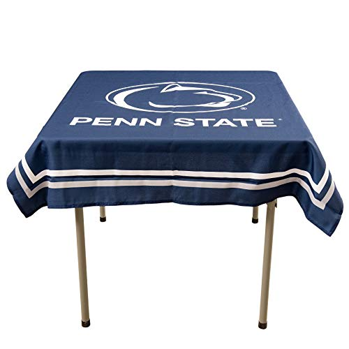 College Flags and Banners Co. Penn State Nittany Lions Logo Tablecloth or Table Overlay