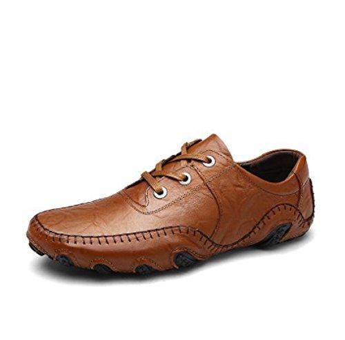 Primavera Guida di Scarpe Scarpe Uomini Brown2 di Piselli Moda Inghilterra da Uomo Scarpe da nWrnRSH