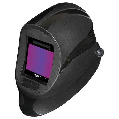 ArcOne X540D-0900 Xtreme Fixed Auto-Darkening Black Viper Helmet with X540D filter