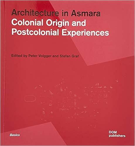 Architecture in Asmara: Colonial Origin and Postcolonial