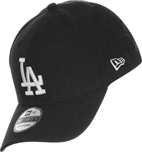 New Era 39thirty League LA Dodgers Gorra negro