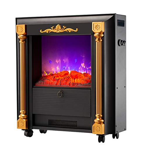 Cheap Liu Weiqin Electric Fireplace - Simple and Light Luxury Decoration Large Vertical/Multi-Function Flame Power: 6W673 273 690mm Black Friday & Cyber Monday 2019