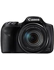 كاميرا صغيرة 20 ميجابيكسل باور شوت من كانون SX540 HS - اسود