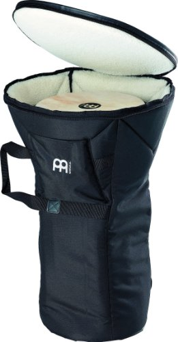 Meinl Percussion Djembe Bag - Deluxe Professional Large Size with Synthetic Wool Lining - Heavy Duty Padded Nylon Exterior, Shoulder Strap and Strong Carrying Grip (MDLXDJB-L)