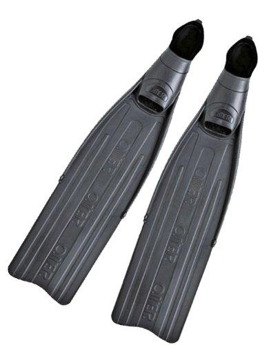 OMER EagleRay Freediving, Spearfishing Full Foot Pocket Long Blade Fins - Pocket Foot Full