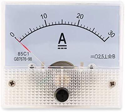 R 85C1 Medidor de panel de corriente analogico DC 30A AMP Amperimetro SODIAL