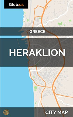 Heraklion, Greece - City Map