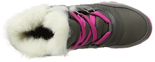 Sorel Youth Whitney Short Lace Boot Quarry/Pink Ice (4.5 Big Kid) by SOREL (Image #7)