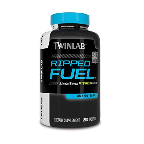 TWINLAB Ripped Fuel Weight Loss Tablets, 200 Count