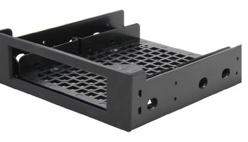BitFenix 25-Inch Drive Bay Adapter - Black (BFA-ADPT-525KK-RP)