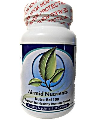 Nutra-Bal 100, en charge du système immunitaire sain, 1000 mg-60 Capsules