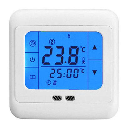 FidgetGear 2015 New Version LCD Heating Electric Underfloor Thermostat w/Air & Floor Sensor from FidgetGear