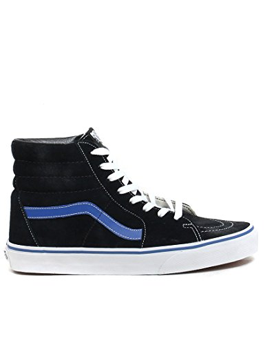 Vans Unisex SK8-Hi Suede Trainer - Schwarz (Black/Blue) sale view 2015 new online discount 2015 new buy cheap under $60 free shipping good selling kD18lrVzd