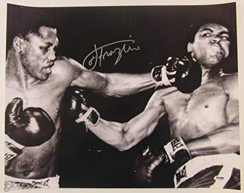 Joe Frazier Signed Auto Autograph 16x20 Bout vs Muhammad Ali Photo PSA/DNA ()