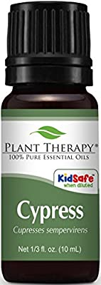 Plant Therapy Cypress Essential Oil. 100% Pure, Undiluted, Therapeutic Grade.