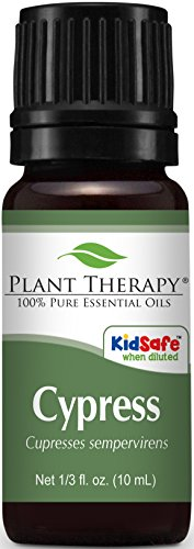 Plant Therapy Cypress Essential Oil. 100% Pure, 1/3 oz