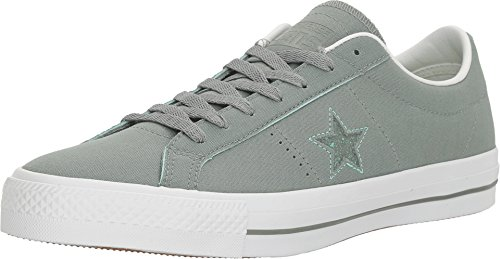 Converse Unisex One Star Pro Suede Ox Skate Shoe (13 D(M) US, Camo Green/Green - Shoes Suede Camo Skate