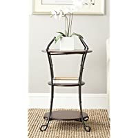 Safavieh American Homes Collection Jessica Dark Brown Side Table