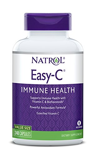 Natrol Easy-C,  500mg , 240 Vegetarian Capsules