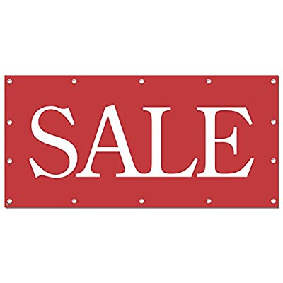Graphics and More Sale Red - Retail Store Business Sign Banner