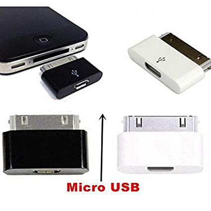 Amazon.com: Morrenz - Micro USB Female to 30 Pin Charging ...