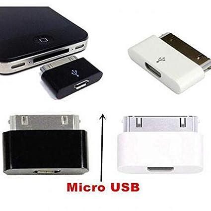Amazon.com: Morrenz - Micro USB Female to 30 Pin Charging ...