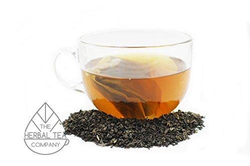 Lovage Root Tea Green Temple Tea Blend Tea Bags With Orange Flavour 25 Pack ()