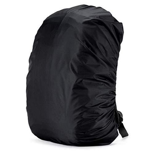 (Yuniroom Backpack Rain Cover Waterproof Pack Cover for Outdoor Travel Hiking Camping Backpack Rucksack Bag Protect Cover (Color : Black, Size : 70L))
