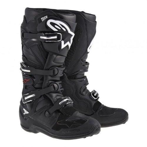 Alpinestars 2018 Tech-7 Boots (BLACK) B00G9BSGL4 15 USA|Black