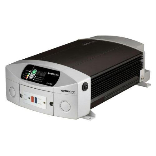 Xantrex 806-1810 Model XM 1800 Pro Series 12V Power Inverter; 1800W inverter easily powers TVs, small appliances, and other electronics; Built-in 15A circuit breaker to protect GFCI connected loads by Xantrex