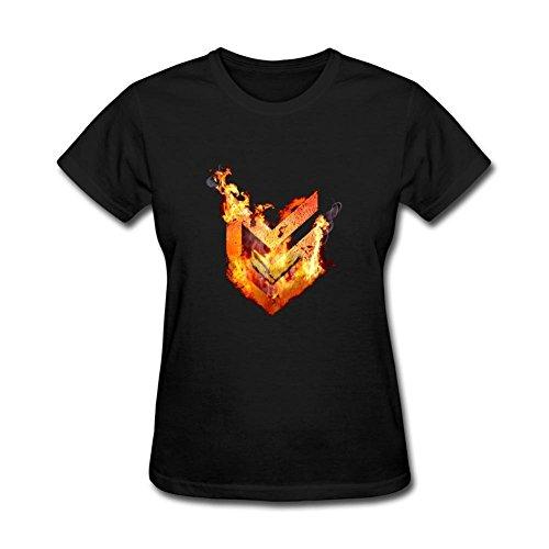 Price comparison product image SAMMA Women's Horizon Zero Dawn Design Cotton T Shirt