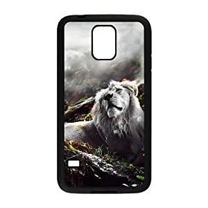 Jungle Lion Samsung Galaxy S5 Cases, Vety {Black}