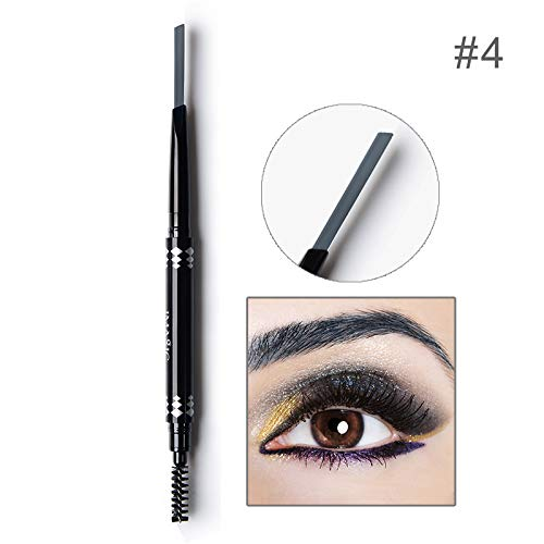 Makeup Eyebrow Automatic Waterproof Pencil Makeup 5 Style Paint Eyebrow Pencil Cosmetics Brow Eye Liner WARM GRAY
