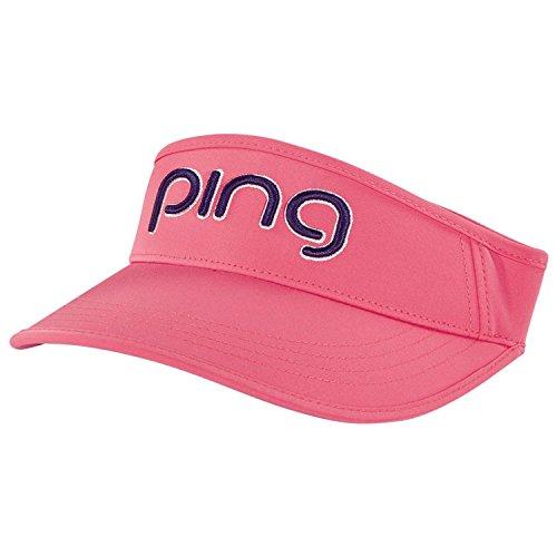 Pingレディースバイザー2018- Peony / Navy