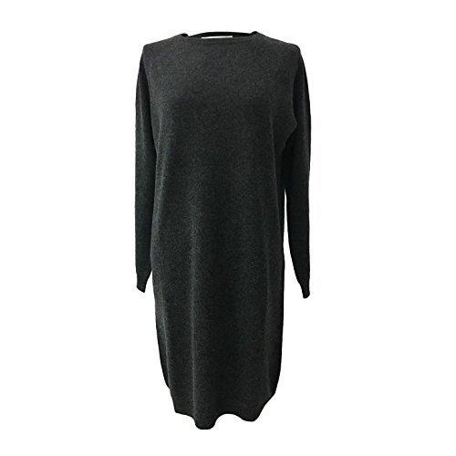 Vagan Laine Femme 13800 Jersey 10 En Ca' Anthracite Fabriqué Robe Cachemire 90 Mongolie Ow0End