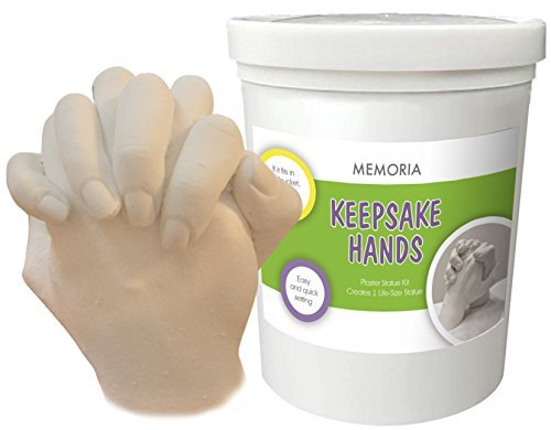 Memoria Hand Casting Kit: Premium Molding and Casting with COLOR Instructions | MADE IN USA