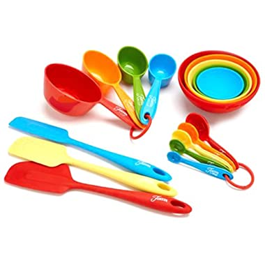 Fiesta 17-Piece Silicone Baking Set