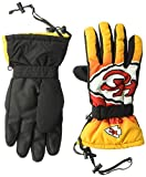 Forever Collectibles NFL Kansas City Chiefs Insulated Gradient Big Logo Gloves, Team Colors, Small/Medium
