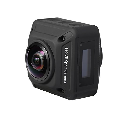 LESHP Wireless 360 Degree Panoramic Camera,Wi-Fi HDMI 1920960P Digital Camera for Outdoor Extreme Sports Action Cameras LESHP
