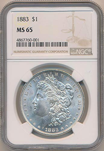 1883 P Morgan Dollar Morgan Dollar MS65 NGC