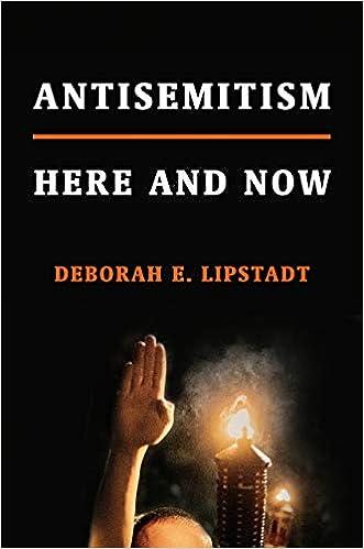 5884d74c0e6 Antisemitism  Here and Now  Amazon.co.uk  Deborah E Lipstadt ...