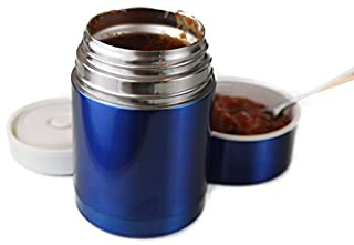 Insulated Stainless Steel Thermal Food Jar Containers Vacuum Sealed 16 No BPA (Blue) (B00QOGU6EO) | Amazon price tracker / tracking, Amazon price history charts, Amazon price watches, Amazon price drop alerts