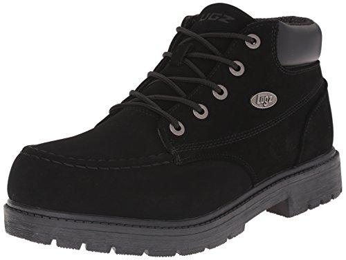 Lugz Men's Loot SR Chukka Boot, Black, 9.5 D US