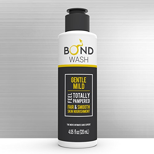 BOND MENS INTIMATE WASH 4.05 Fl. Oz. (120mL) The Best Hygiene Care Products for Men. Confidence Booster & Good for Daily-use. (Gentle Mild)