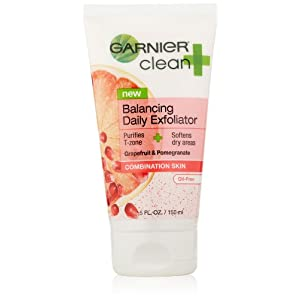Garnier Clean +Balancing Daily Exfoliator For Combination Skin 5FL OZ (Packaging May Vary)