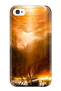 Top Quality Rugged Delphian Calamity Sci Fi Case Cover For Iphone 4/4s