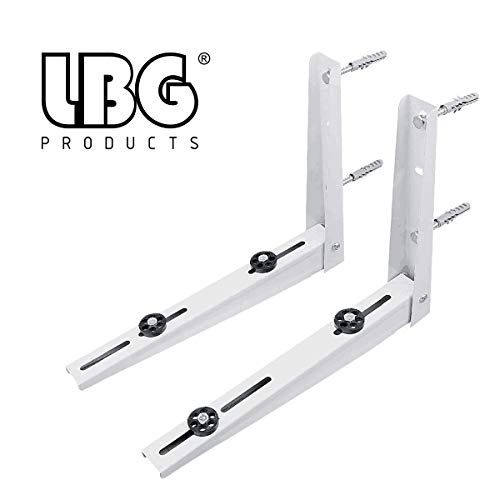 AC parts Wall Mounting Bracket for Ductless Mini Split Air Conditioner Condensing Heat Pump Systems, Universal, Condenser, 1-2P, Support up to 264lbs (7000-12000BTU)