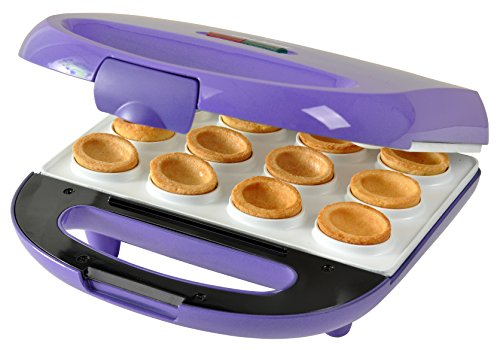 Efbe Schott Waffle Maker With Walnut Shaped Mould Non Stick Ceramic