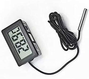 Liroyal Termometro Digital LCD para Refrigerador Congelador Nevera ...