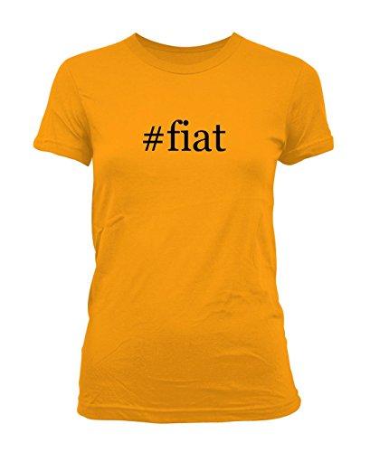 fiat-hashtag-ladies-juniors-cut-t-shirt-gold-large